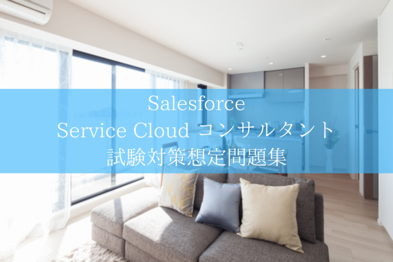 Service Cloud コンサルタント 試験