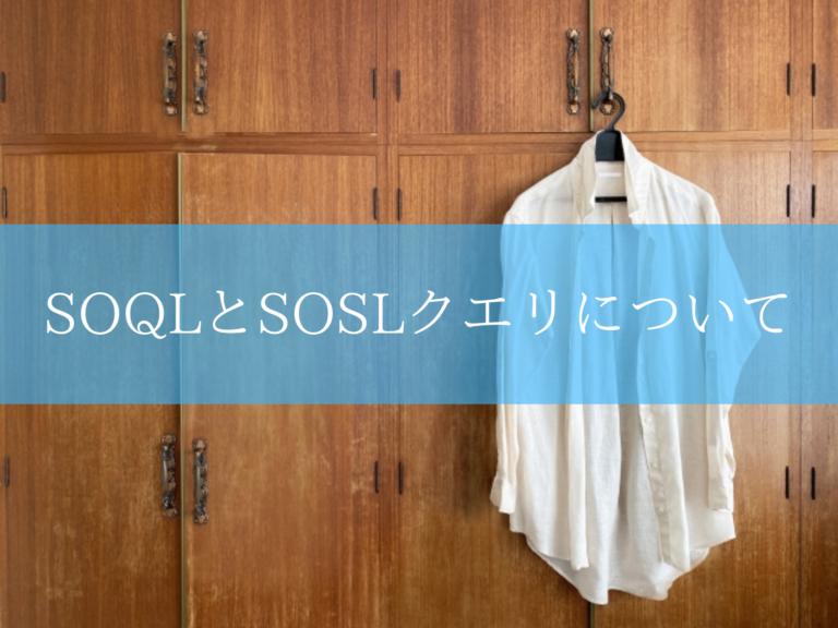 SOQLとSOSLクエリ