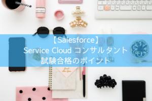 Service Cloudコンサルタント試験合格のポイント