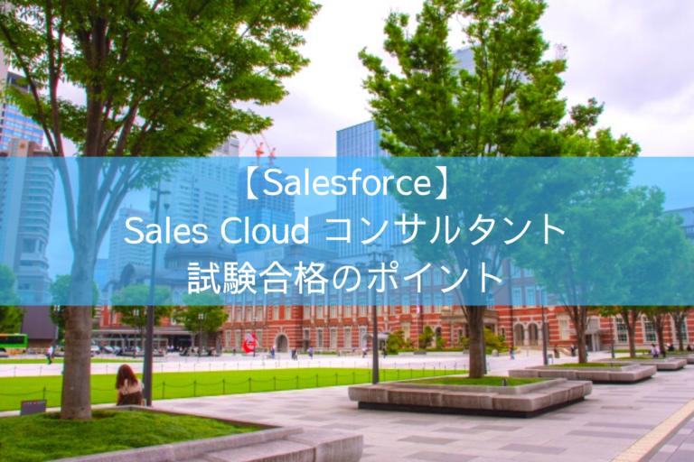 Sales Cloudコンサルタント試験合格のポイント