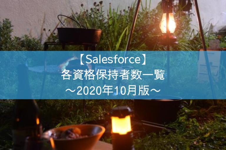 Salesforceの各資格保持者数一覧