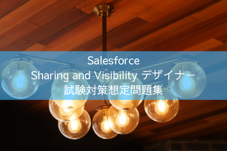 Salesforce Sharing and Visibility デザイナー 試験対策想定問題集