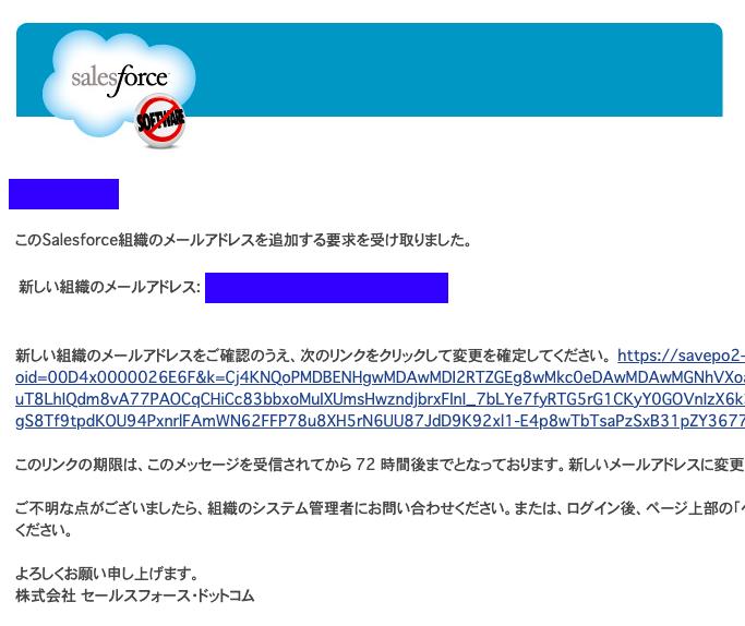 組織のメールアドレス